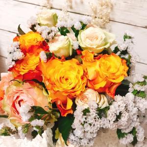 薔薇の花束保存  お預かりしました♡