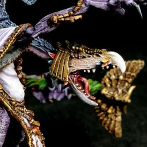 [ディーモン]  ティーンチ ロード・オブ・チェンジ【旧メタルVer.】完成!〈ウォーハンマー〉