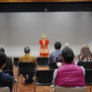 1月27日 民俗文化の会にて講演と舞楽上演