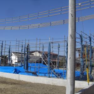 西条新築現場(上棟前画像)