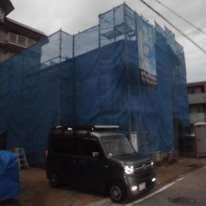 今朝の現場画像(9.3金)南吉田、北吉田、余戸、石手、今治各新築現場画像。