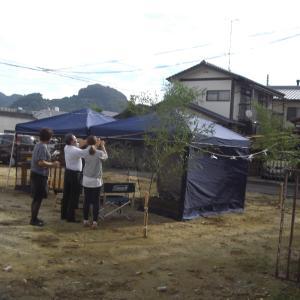 地鎮祭。(松山市内<吉藤>)