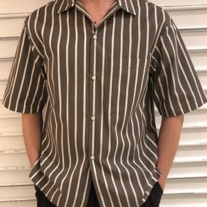 2021/05/12本日のメンズ  半袖オープンカラーシャツ①