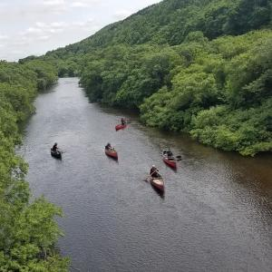 カヌー、水辺の活動リスクマネージメント研修