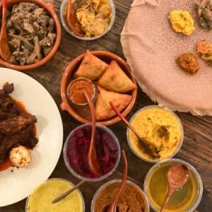 ニューヨークデリバリー、エチオピア料理