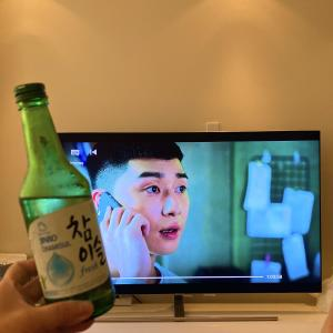 韓国ドラマ、梨泰院クラスを見ながら韓国料理