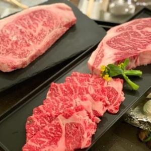 家で鉄板焼き、肉祭り♪