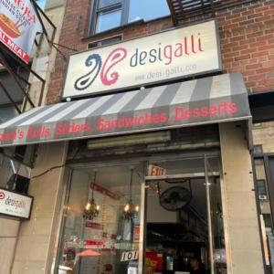 【マンハッタン】インドのストリートフード! Desigalli