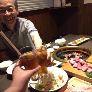28回目の記念日は焼肉で・・・!