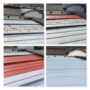 仕事場の屋根の補修と検温のお願い