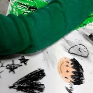 子どもの心と絵「黒」