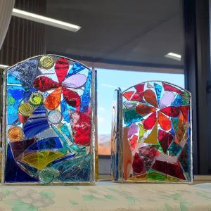 「ガラスモザイク講座」ありがとうございました。