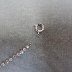 金具がなくなってしまったネックレスお修理もお任せください!