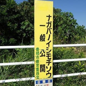 9月15日 県指定天然記念物