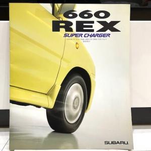 スバル レックス 660 スーパーチャージャー カタログ