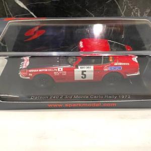 イグニッションモデルとの違いは・・スパーク DATSUN 240Z Monte Carlo 1972