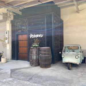 ワイン工場のダイハツ ミゼット