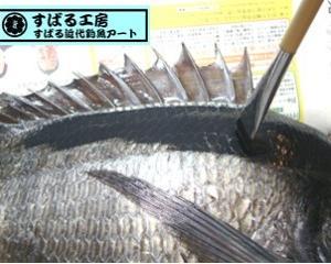★親子でも楽しめる魚拓教室★