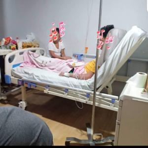 まだ入院中。
