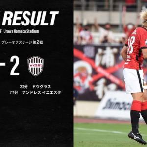 神戸と2-2のドロー。