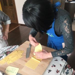 塩田ノア先生のイタリア料理教室へ〜