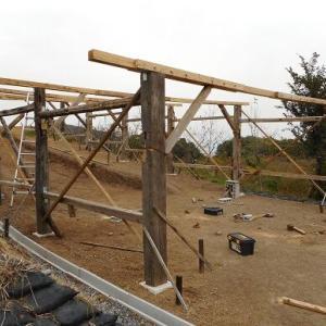 窯上屋、建設⑪筋交