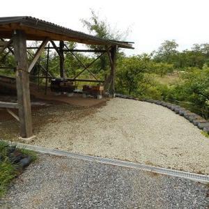 砕石、敷設①南本窯