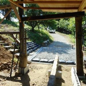 砕石、敷設②北脇窯作業道