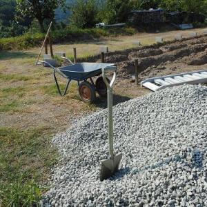工房用地、基礎⑥砕石