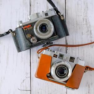 カメラの革ケースは、ケースバイケースで。(笑)