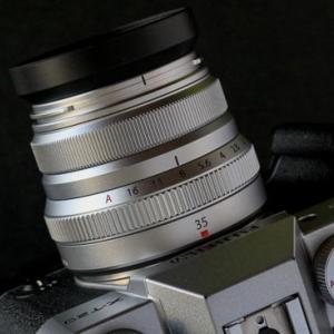 XF35mm F2 R WR標準レンズの季節