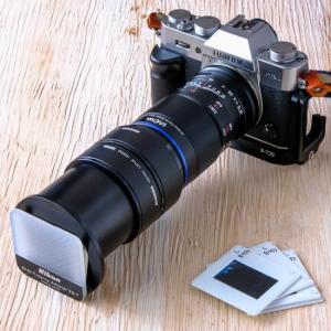 LAOWA 65mm マクロでフィルム複写。