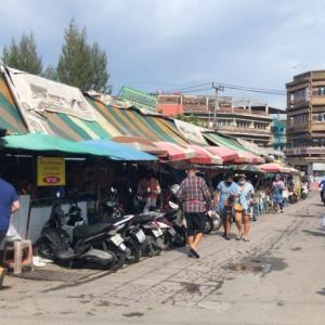 久しぶりのナクルア海鮮市場(パタヤ)