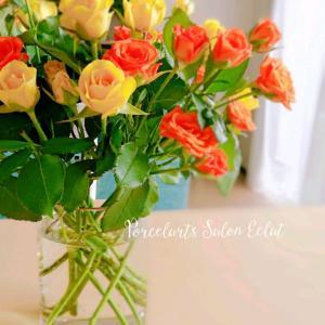 お花を置くことで変わることと8月のレッスンについて