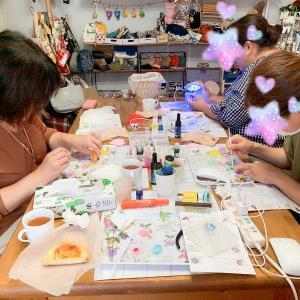 【レポ】周年祭は傘レジン!いろんな物語が完成しました【大人レジン講座10月】