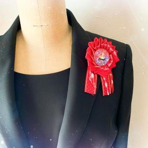 卒園・入学の胸元に親子でおそろいのロゼッタを【縫わないロゼッタキット】