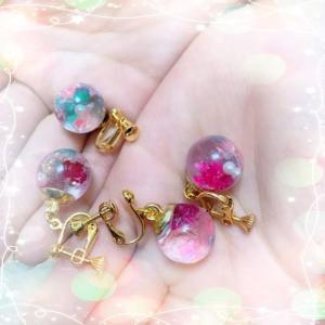 【キットご感想】お友達へおそろいのイヤリングをプレゼント
