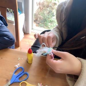 【レポ】ママ特製のヘアゴムが完成!【ふわふわヘアゴムWS】