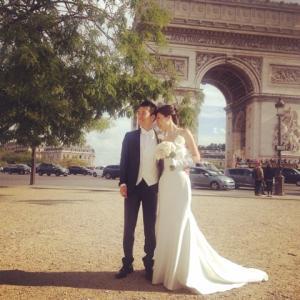 パリで挙式②