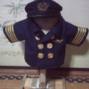 全日空のパイロットのお洋服ができました
