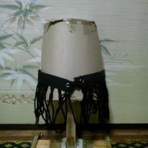 メイちゃの オーバースカートができました