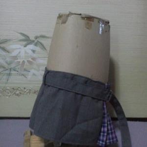メイちゃんの スカートができました