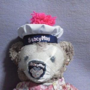 ステイシーメイちゃん ぼんぼり帽子ができました