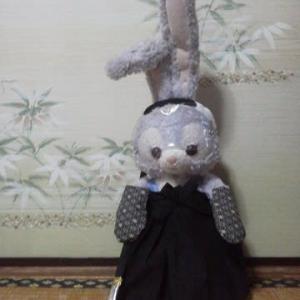 ステラ・ルーたんの 侍装束のパーツができました
