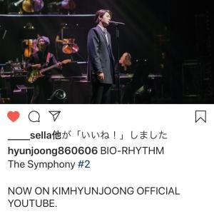 instagram 更新! キム・ヒョンジュン