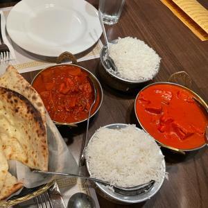 夕食はインドカレー♡マルカイでお買物♡