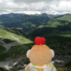 2017年8月 折立~赤木沢で沢登り~新穂高・10