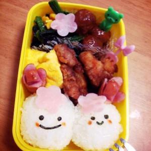 桜ちゃん弁当 .+゚*。:゚+ヽ(*´∀`)ノ【モウスグハ~ルデスネェ♪】