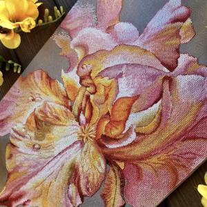 花の名前をパッと言える人でありたいと願う件とクロスステッチ