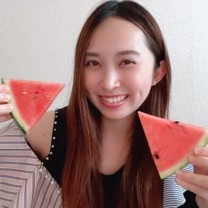 今年初 スイカ 宝生麻佑( ・ᴗ・ )